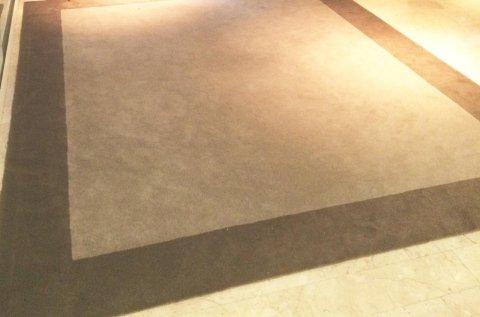 tappeto con cornice