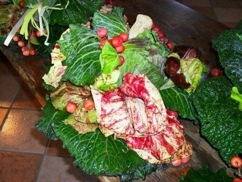 verdura a foglia larga