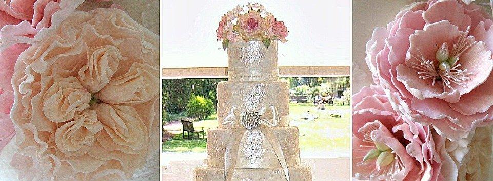Beautiful Cakes made in Bristol by Pretty Amazing Cakes Award Winning wedding cake designer