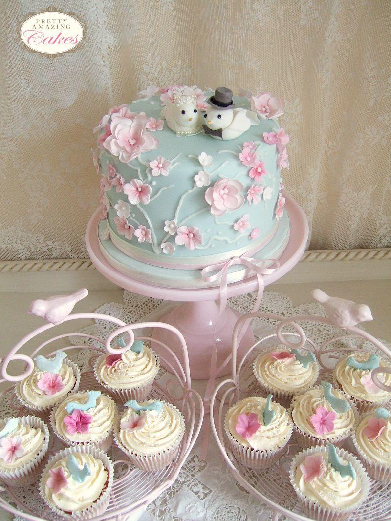 Cherry Blossom cupcakes Pretty Amazing Cakes Bristol