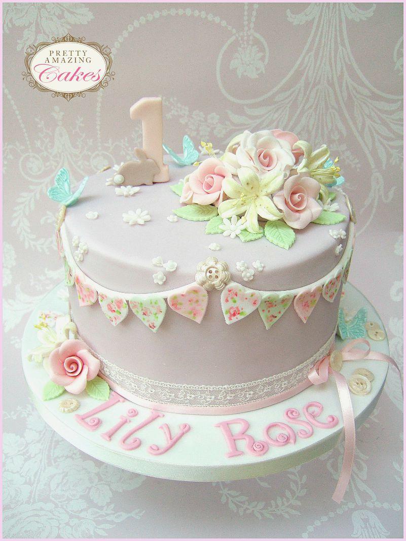 Baby Shower Cake Bunting