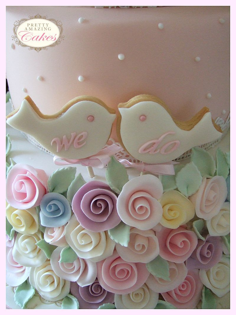 Wedding favour cookies Bristol at Pretty Amazing Cakes
