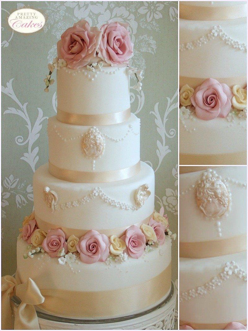 Vintage wedding cakes Bristol, Gloucester