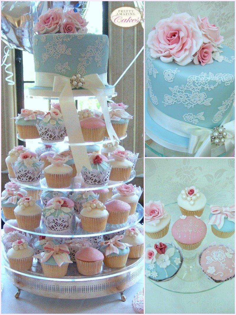 Cupcake wedding tower Bristol