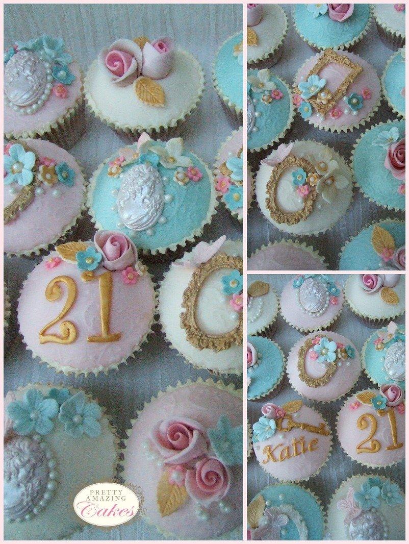 21st Birthday Cupcakes Bristol by Pretty Amazing Cakes