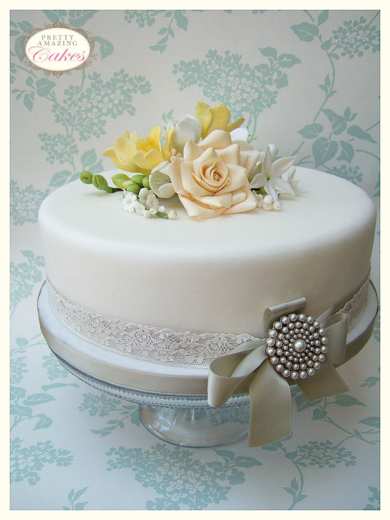 Wedding Anniversary Cakes Bristol Small Wedding Cakes