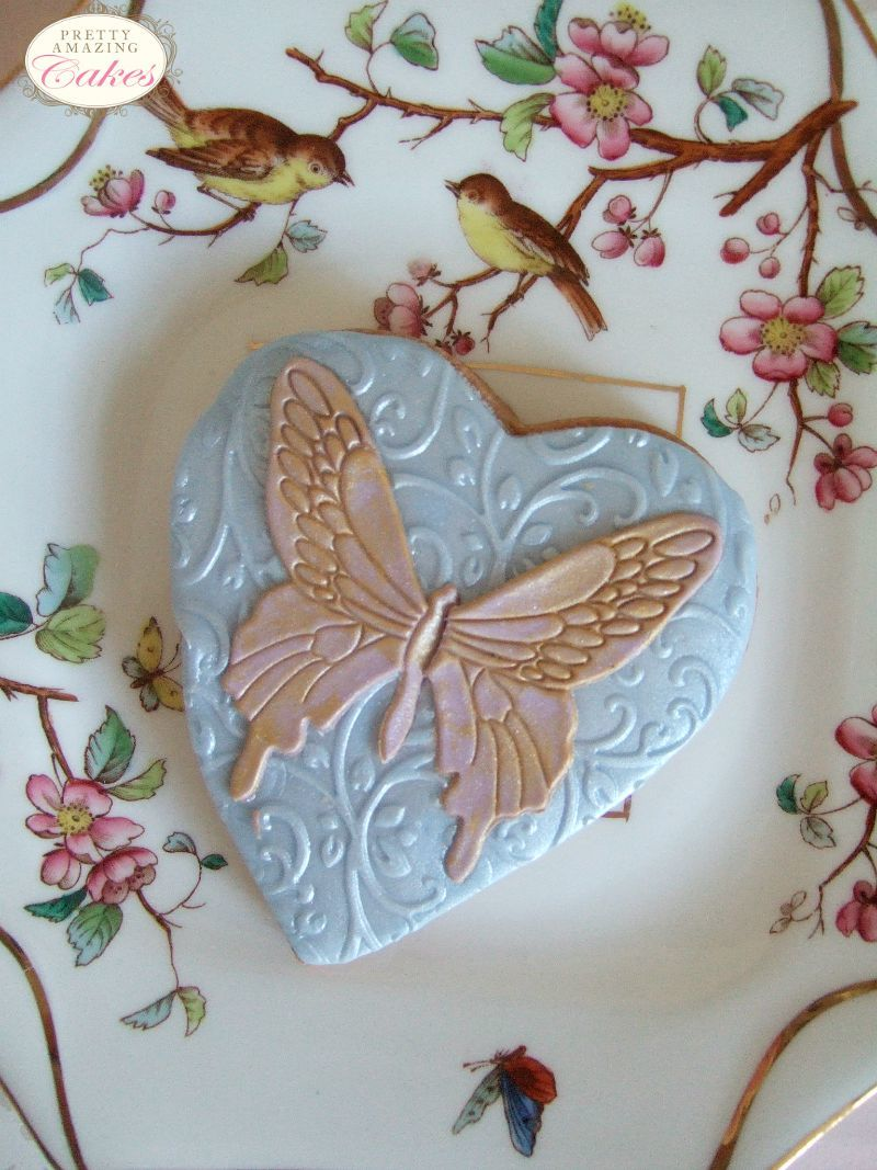 Butterfly Wedding Cookies Bristol by Pretty Amazing Cakes