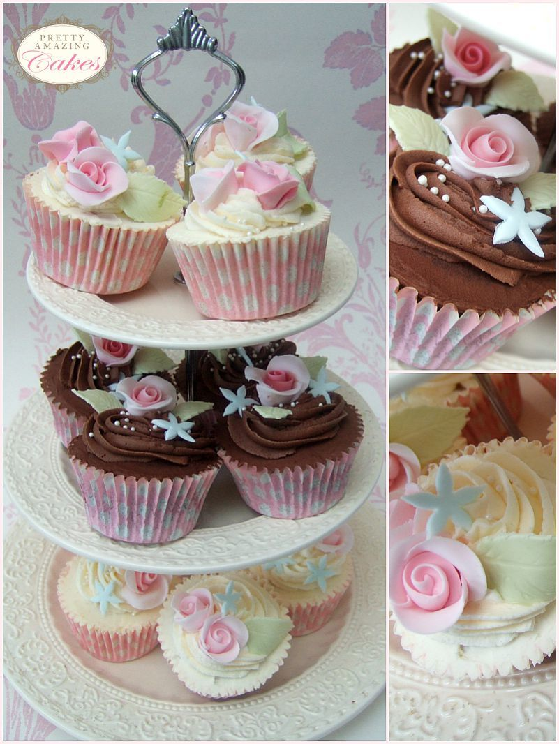 Cupcakes to order at Pretty Amazing Cakes in Bristol
