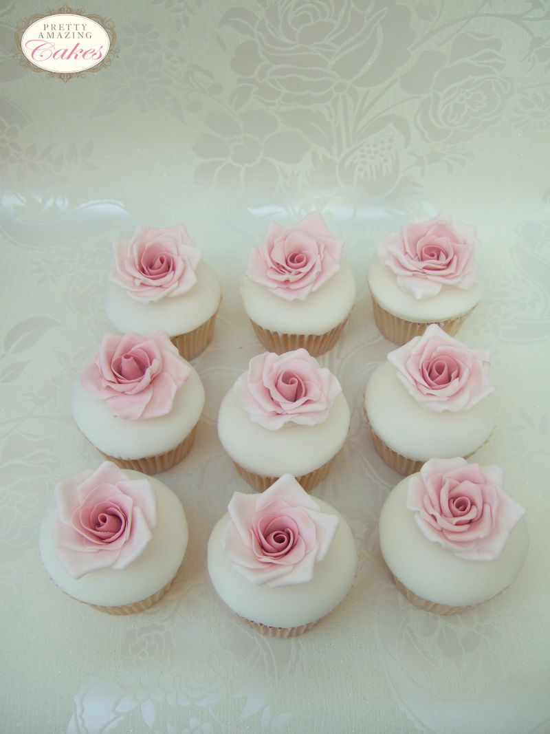 Sugar Roses Cupcakes, from Bristol cake makers Pretty Amazing Cakes