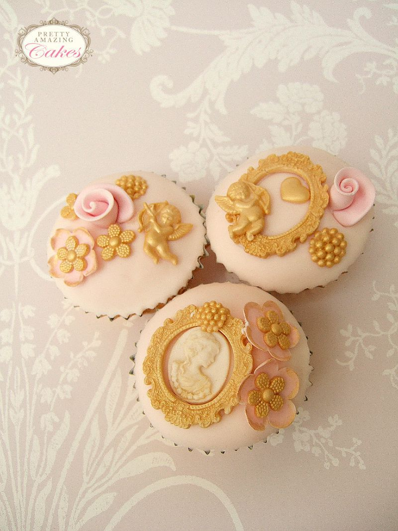 Cameo Cupcakes by Pretty Amazing Cakes in Bristol
