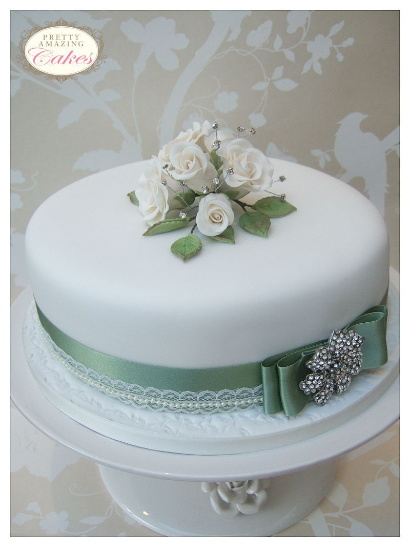 Cake Decorations Diamond Anniversary : Wedding Anniversary Cakes Bristol Small wedding cakes