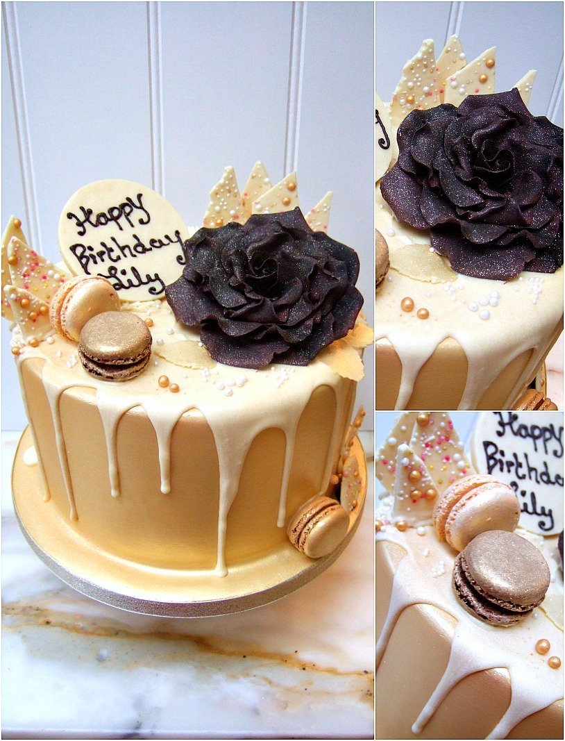 Chocolate drip cakes Bristol, Patisserie cakes Bristol, Home baked Cakes in Bristol