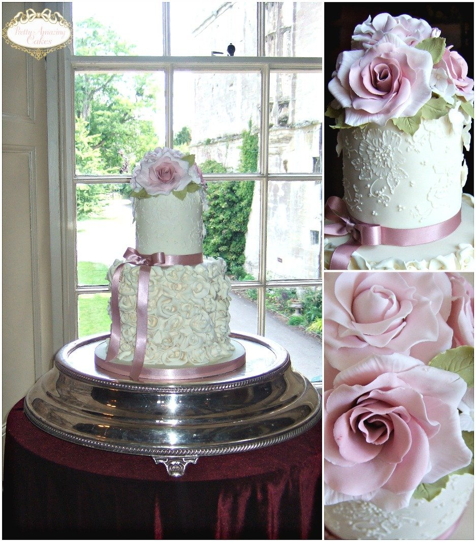 Small wedding cakes for small weddings Thornbury Castle  Bristol, Beautiful small wedding cakes at Thornbury Castle for the smaller wedding