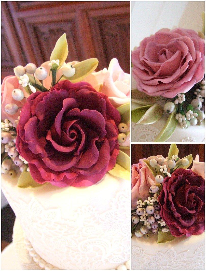 Sugar Flowers For Wedding Cakes Bristol, Sugar Roses, Sugar Peonies, Hand  Crafted Sugar