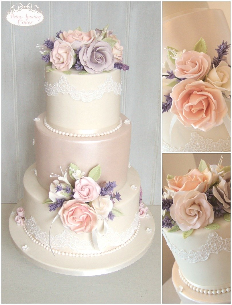 Vintage Wedding Cakes Gloucestershire, Cotswolds, Bristol, Bath and Somerset, Award Winning Wedding Cake Designer, Pretty Amazing Cakes