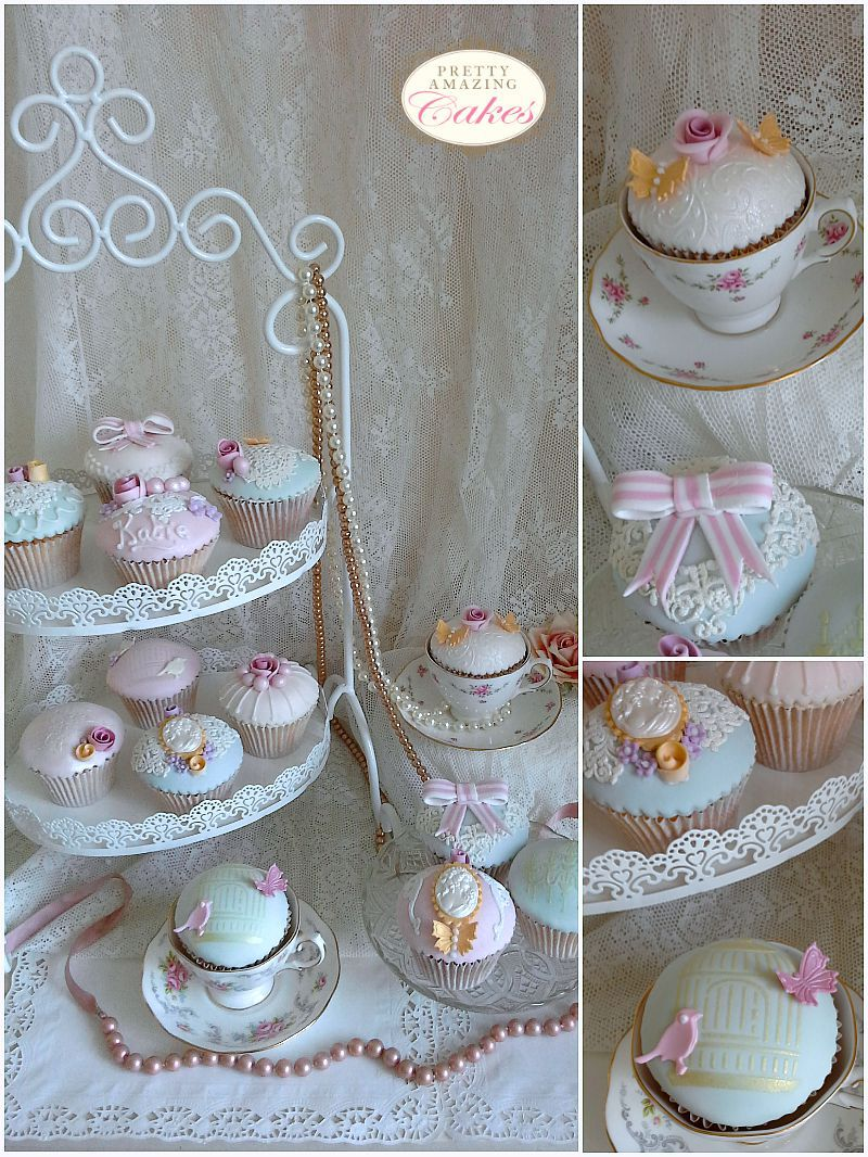 Pretty cupcake selection by Bristol bakery Pretty Amazing Cakes