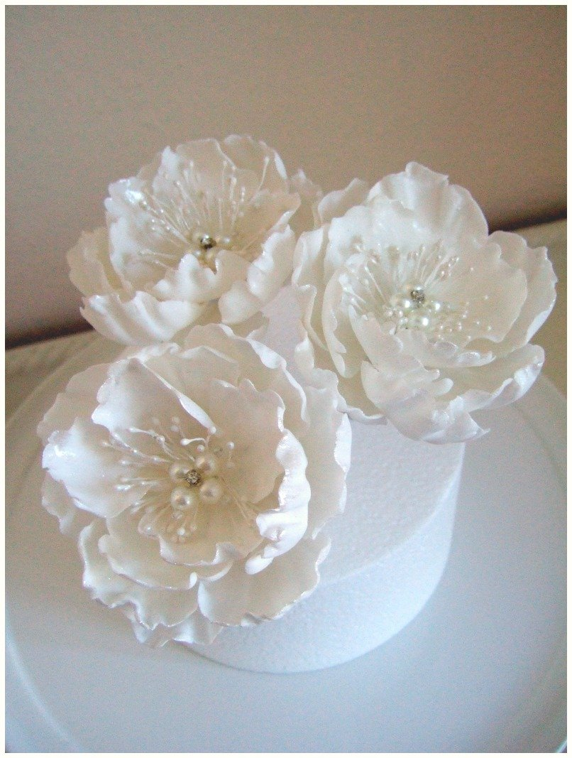 Cake Tiers And Sugar Blooms