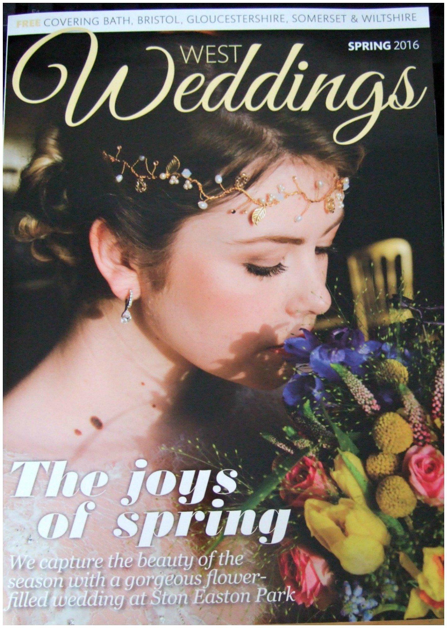 West Weddings Magazine Featuring Pretty Amazing Cakes Bristol