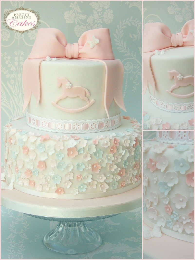 Christening Cake Design For Baby Girl : Christening Cakes Bristol Baby showers, children s cakes ...