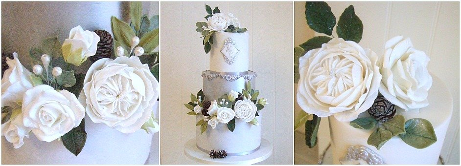 Modern Contemporary Wedding Cakes Bristol Gloucestershire Cotswolds