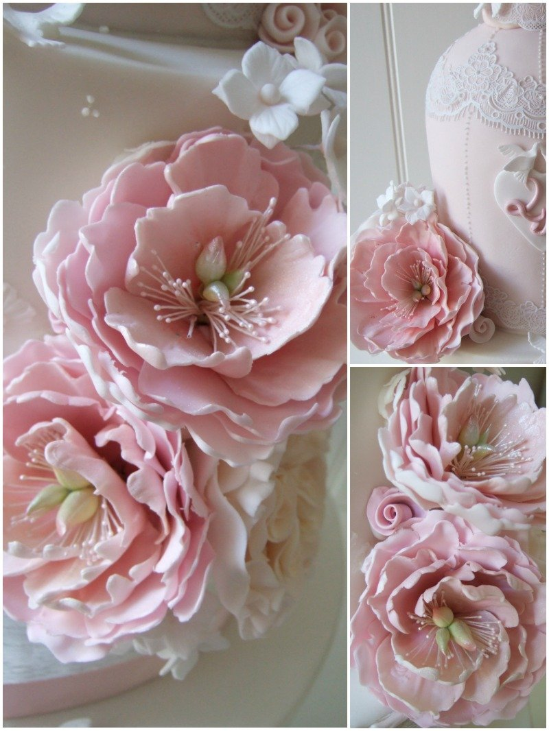 Sugar Peonies Bristol by Pretty Amazing Cakes