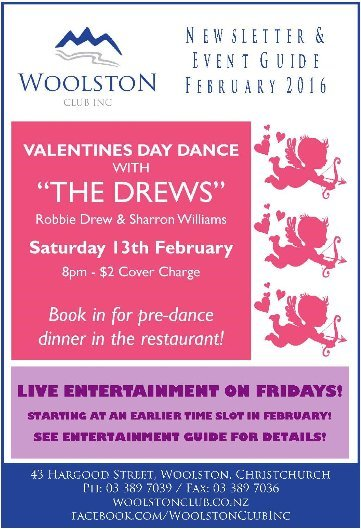 woolston newsletter