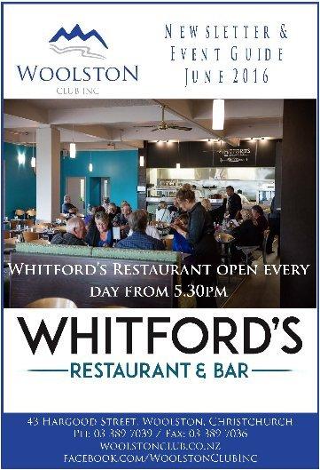whitford bar