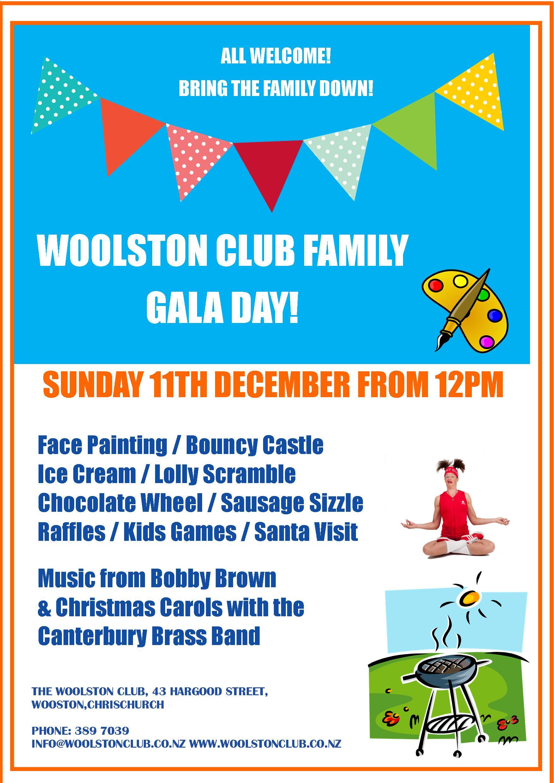 woolston club family gala