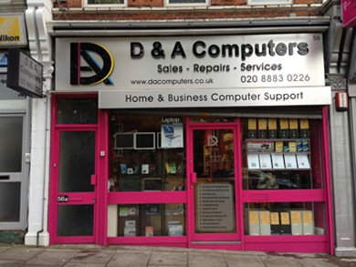 Laptop upgrades - Totteridge, Greater London - D & A Computers Ltd - Typing