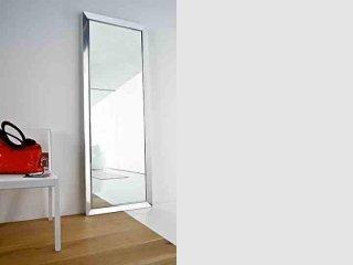 Specchiera con struttura in alluminio brill o laccato - Venera - POINT
