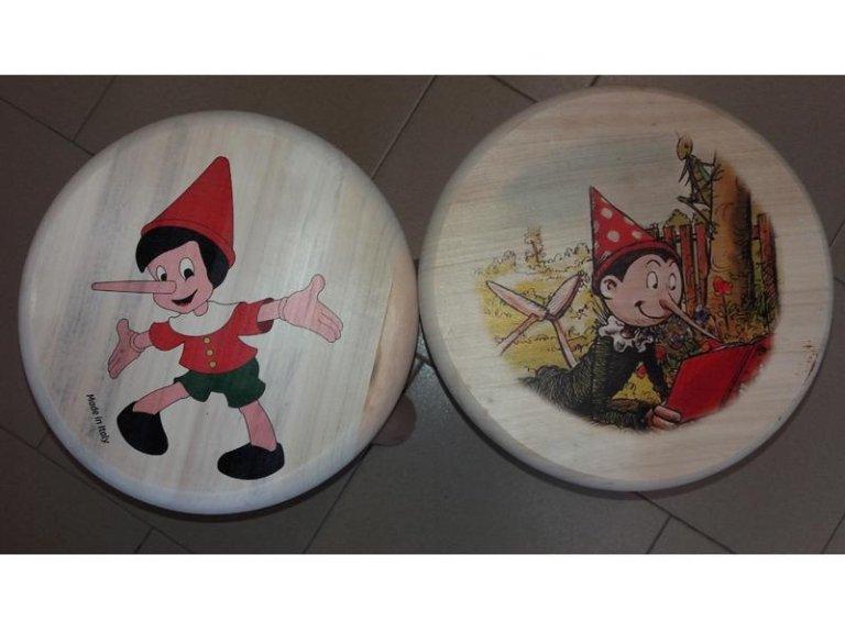 Sgabelli Pinocchio