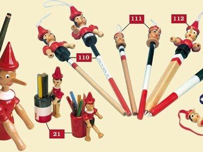 Pinocchio pencils