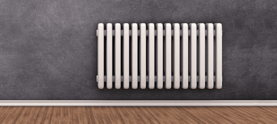 modern wall mounted radiator