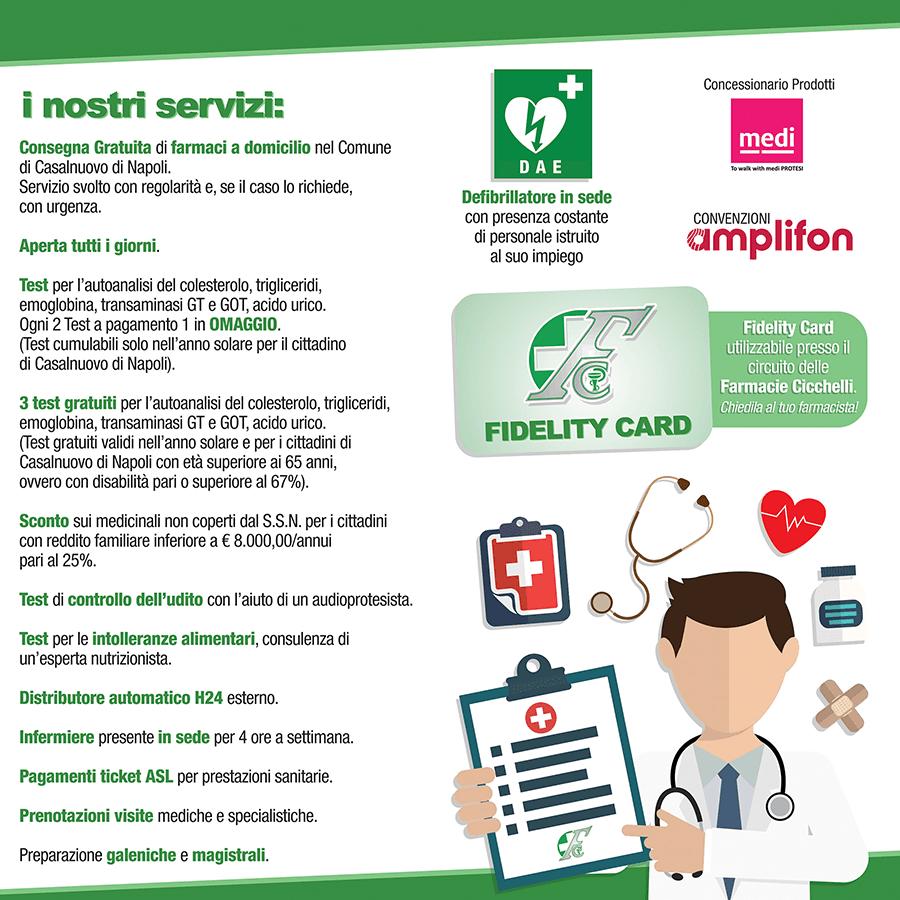 brochures servizi farmacia cicchelli
