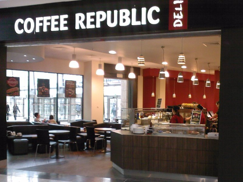 Coffee republic cafe