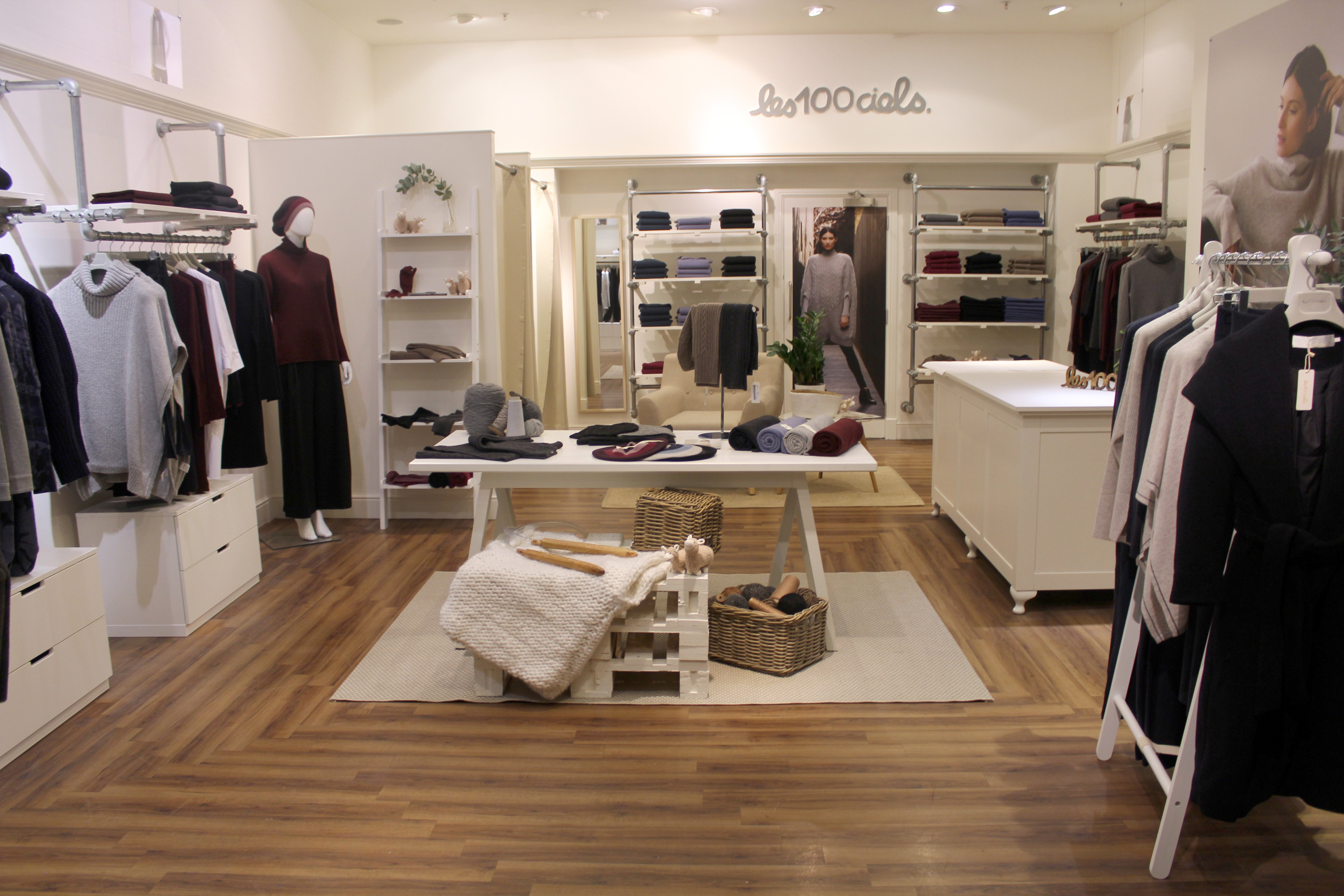 clothing store interiors