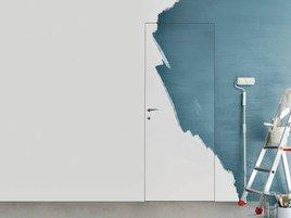 Pittura di parete nella nuova casa