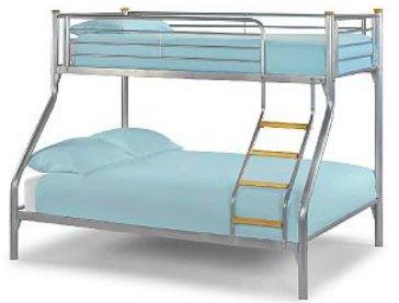 kid's beds metal