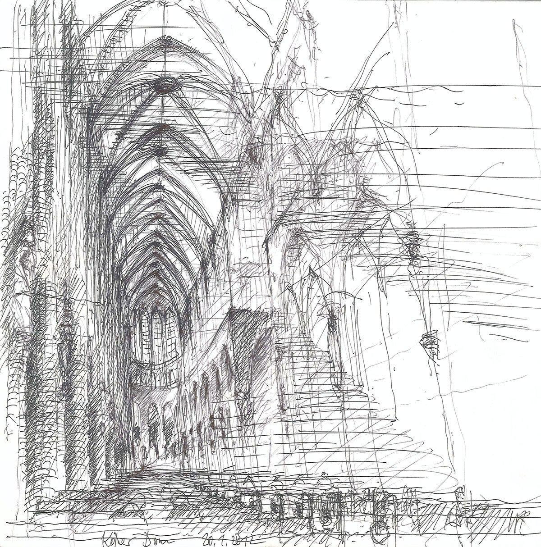 Galerie dresden architektur perspektive - Architekturzeichnung lernen ...