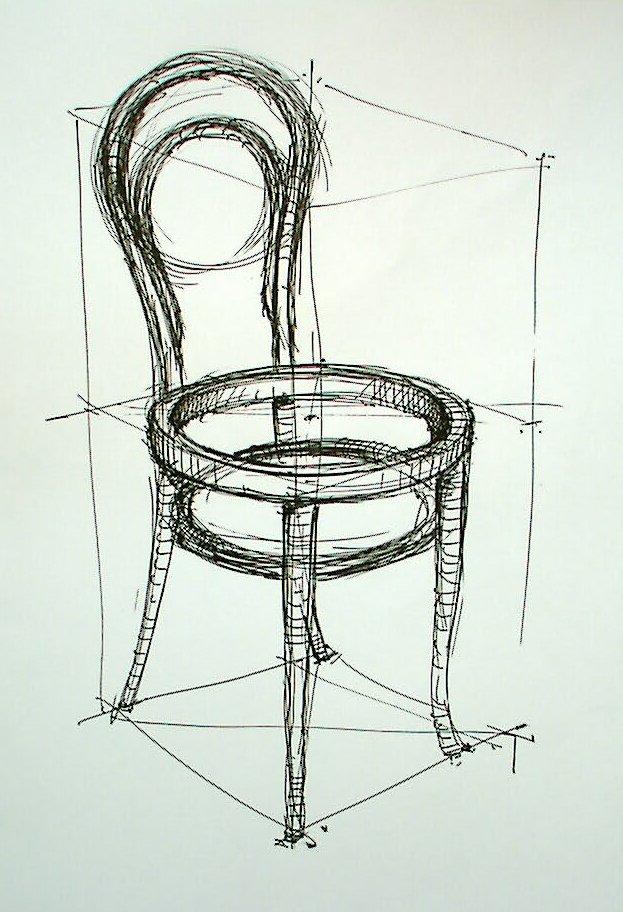 architektur zeichnen lernen wohn design. Black Bedroom Furniture Sets. Home Design Ideas