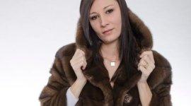 giacca in visone