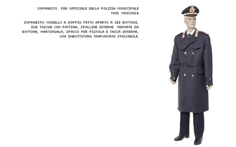 Soprabito polizia municipale