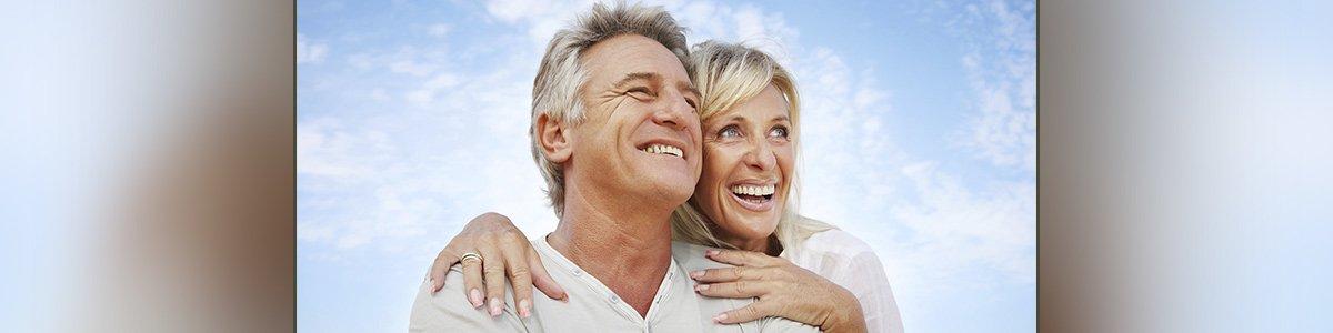 revesby dental centre mature couple smiling