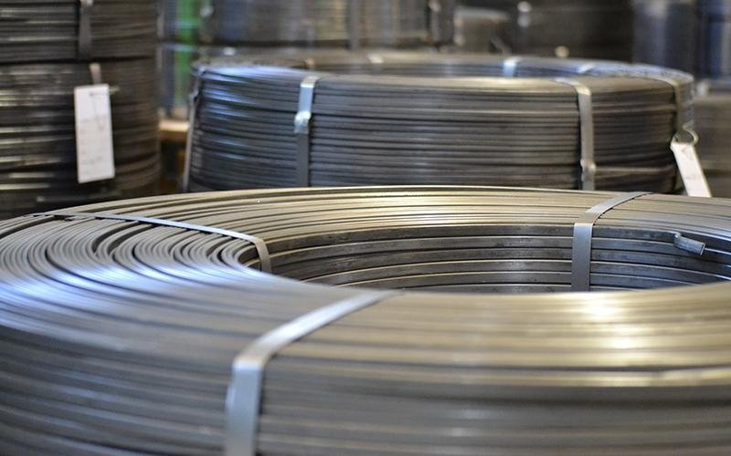 production of steel wire