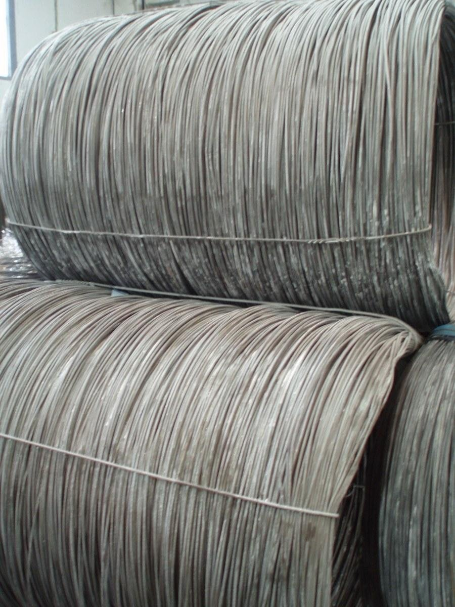 pickled wire rod ready for rolling
