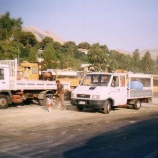 Lavori di adeguamento degli impianti elettrici della rimessa Amat di Palermo