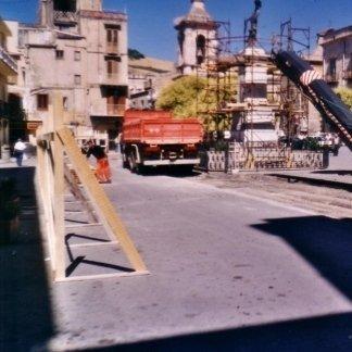 Lavori di scarifica stradale