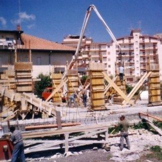 Realizzazione di strutture in cemento armato