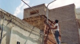 Realizzazione di impianto di illuminazione esterna ad Alcamo