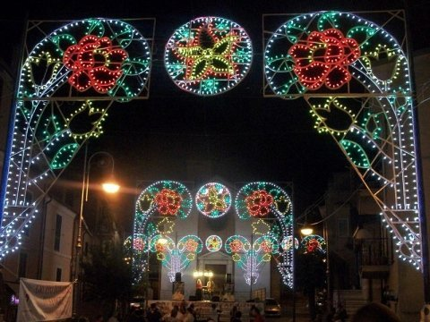 Noleggio Luminarie per eventi, Rieti